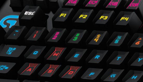 Orion Spark illuminated keyboard