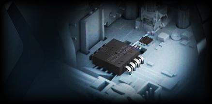 Internal optical sensor technology close up