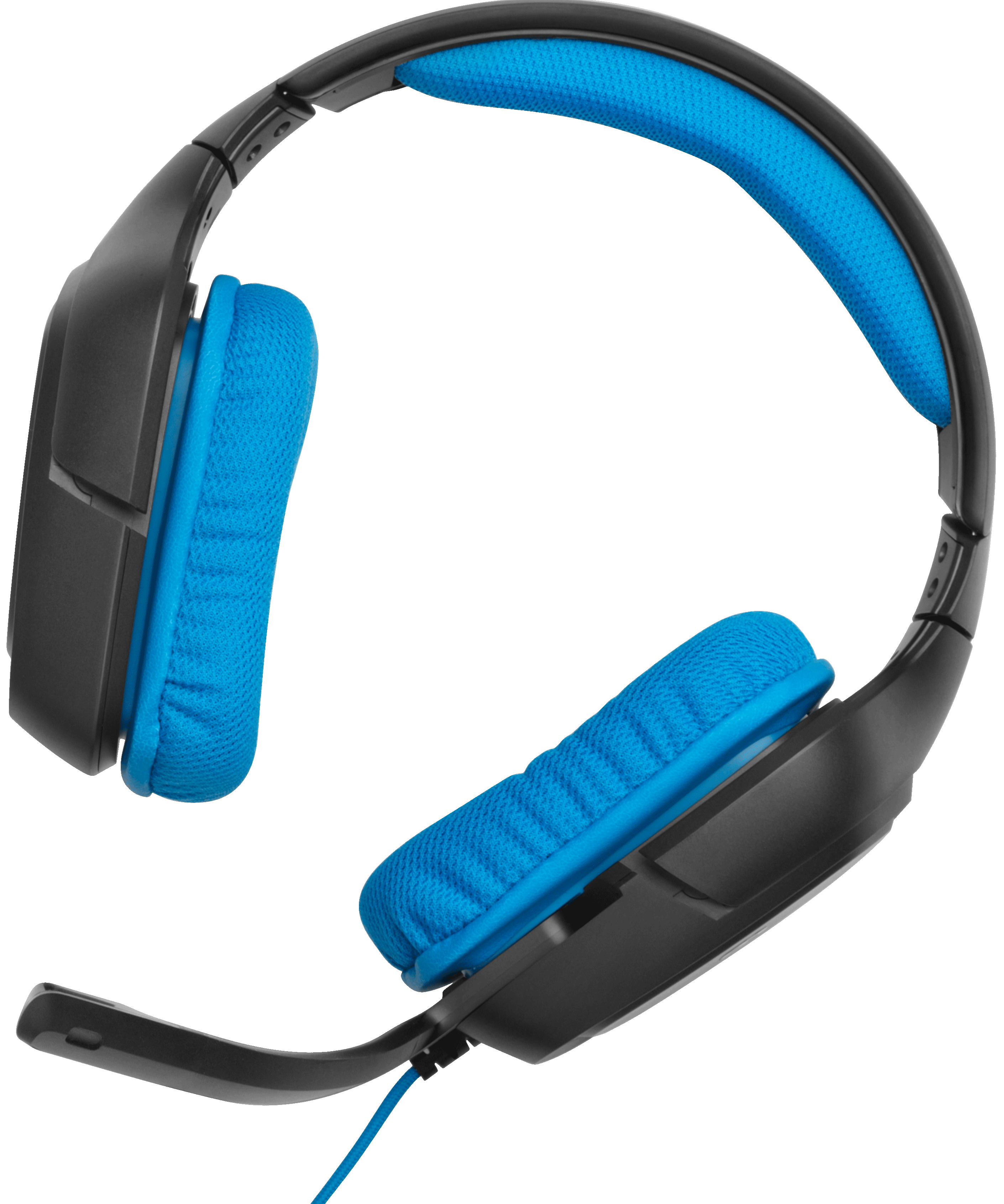 Logitech Black PC WORKING//FOR PARTS G430 Wired Over the Ear Gaming Headset