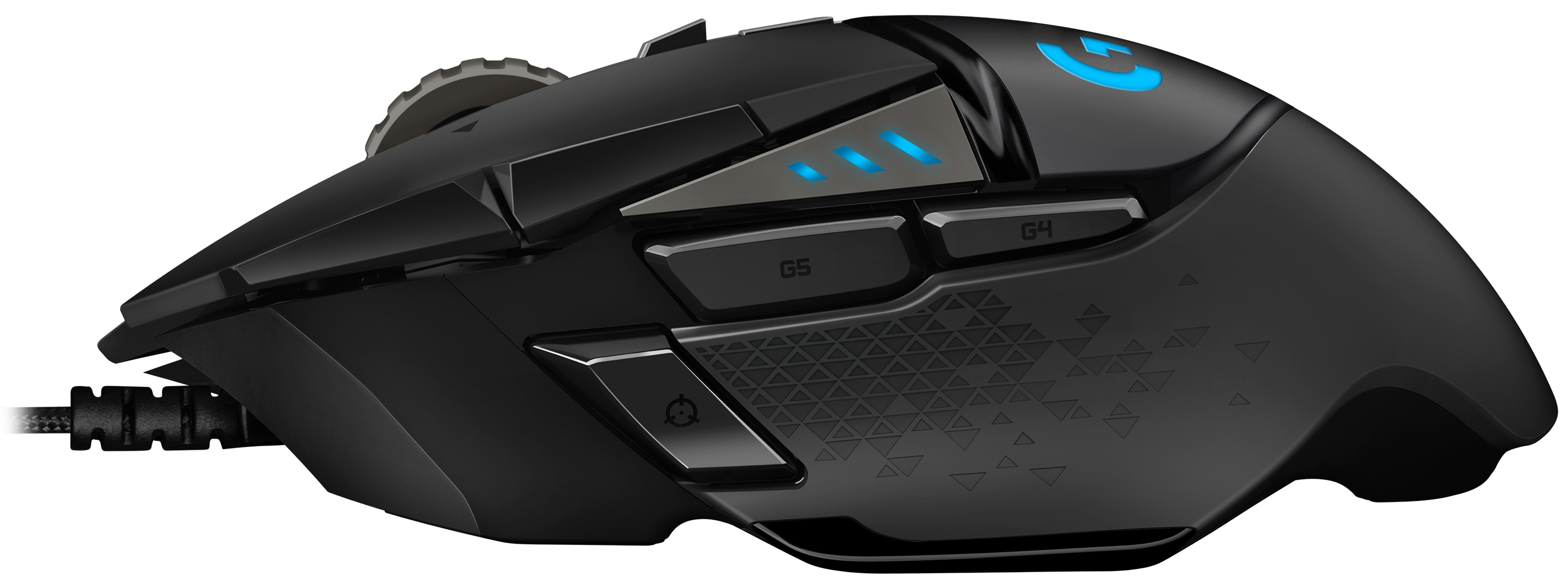 62f6c9d6959 Logitech G502 HERO High Performance Gaming Mouse