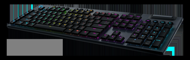 Helt nya Logitech G915 LIGHTSPEED Wireless RGB Mechanical Gaming Keyboard CC-15