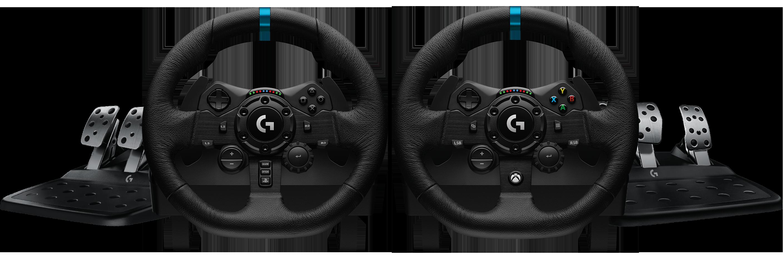 Logitech G923 Trueforce Sim Racing Wheel For Xbox Playstation And Pc