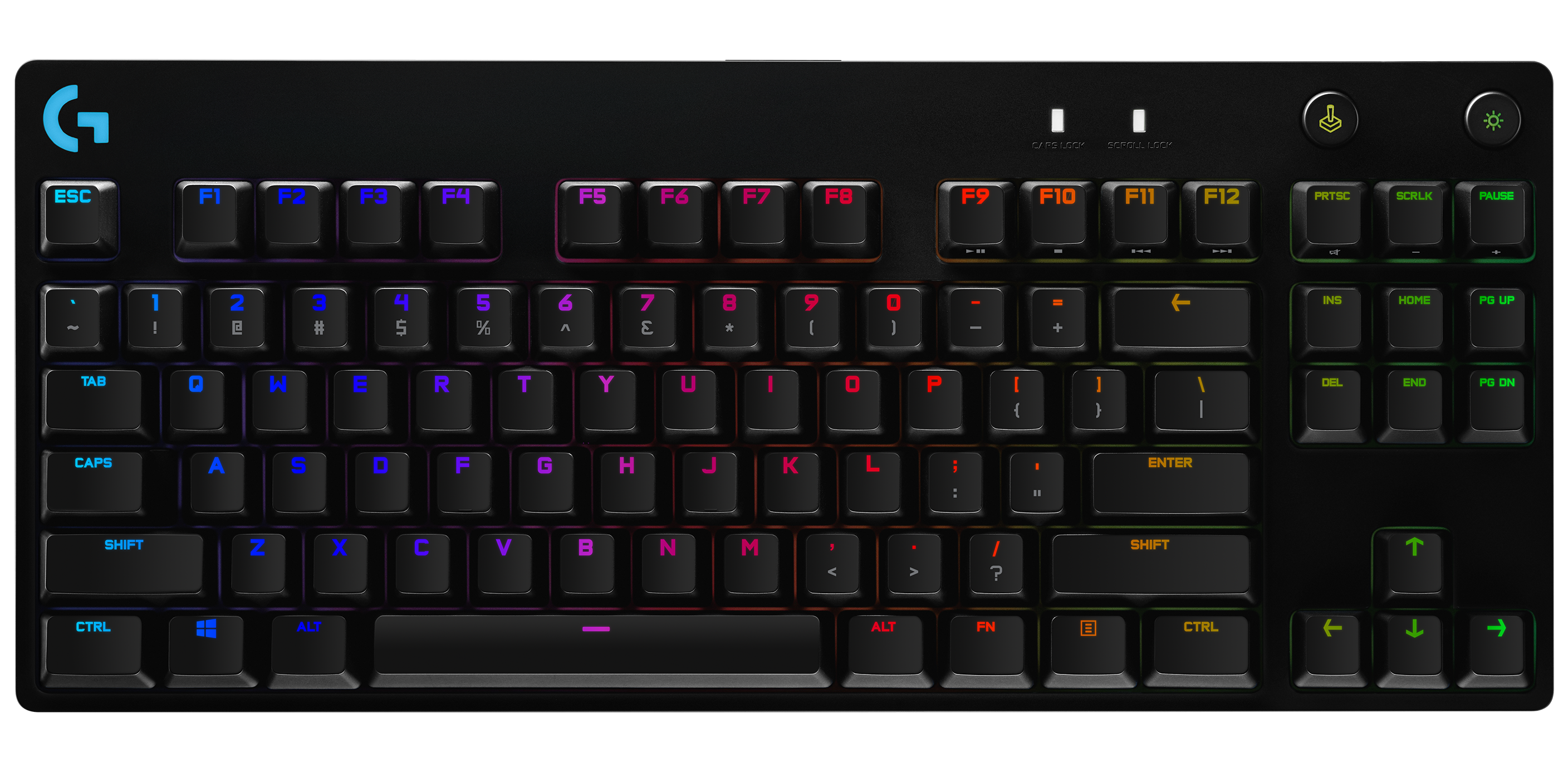 Logitech G PRO Keyboard - Tenkeyless Portable Gaming