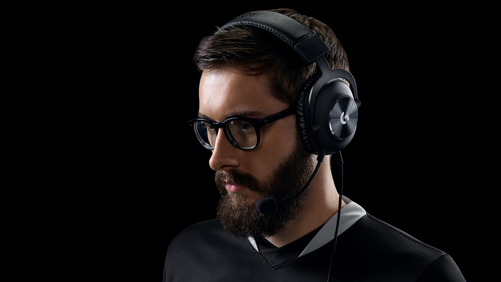 Audífonos Con Micrófono Logitech Pro X Para Juegos Con