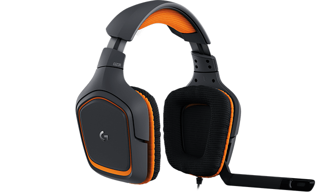 a11a1f957bd Logitech G231 Prodigy Gaming Headset with Unidirectional Mic